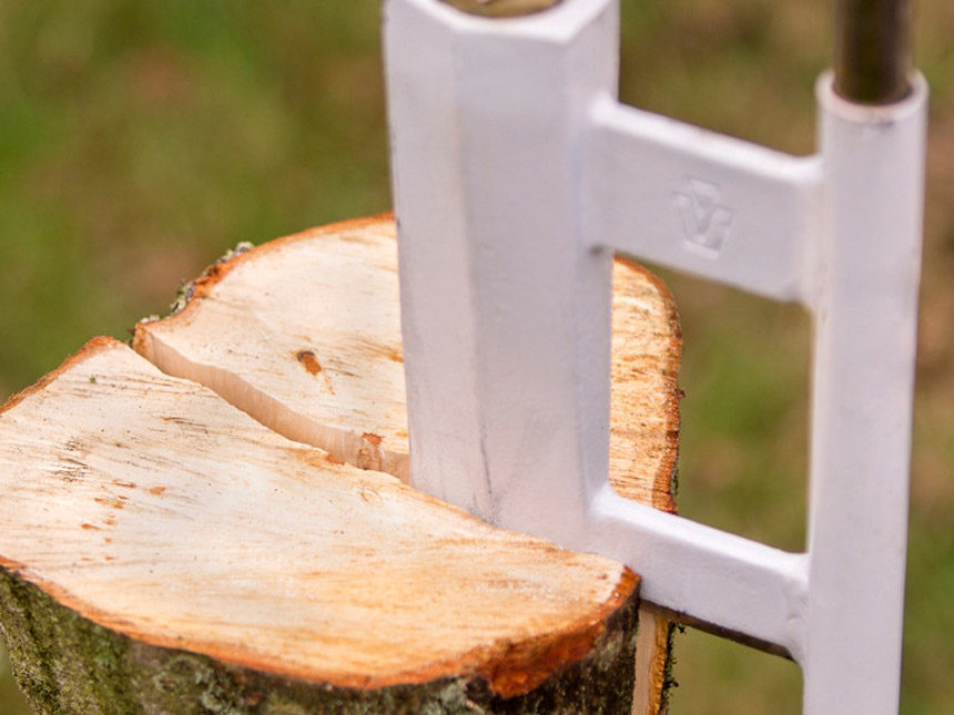 Slide-Hammer Log Splitter