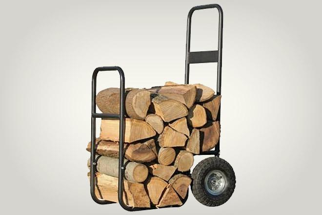 Shelterlogic Firewood Cart