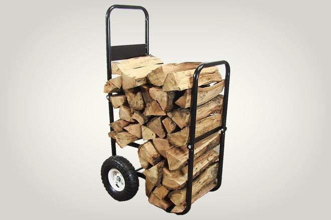 Sunnydaze Firewood Cart
